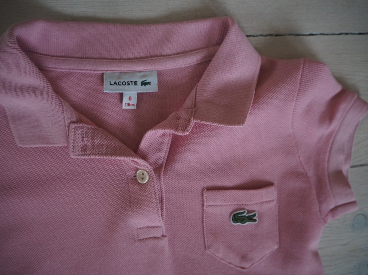 Lacoste rosa 2