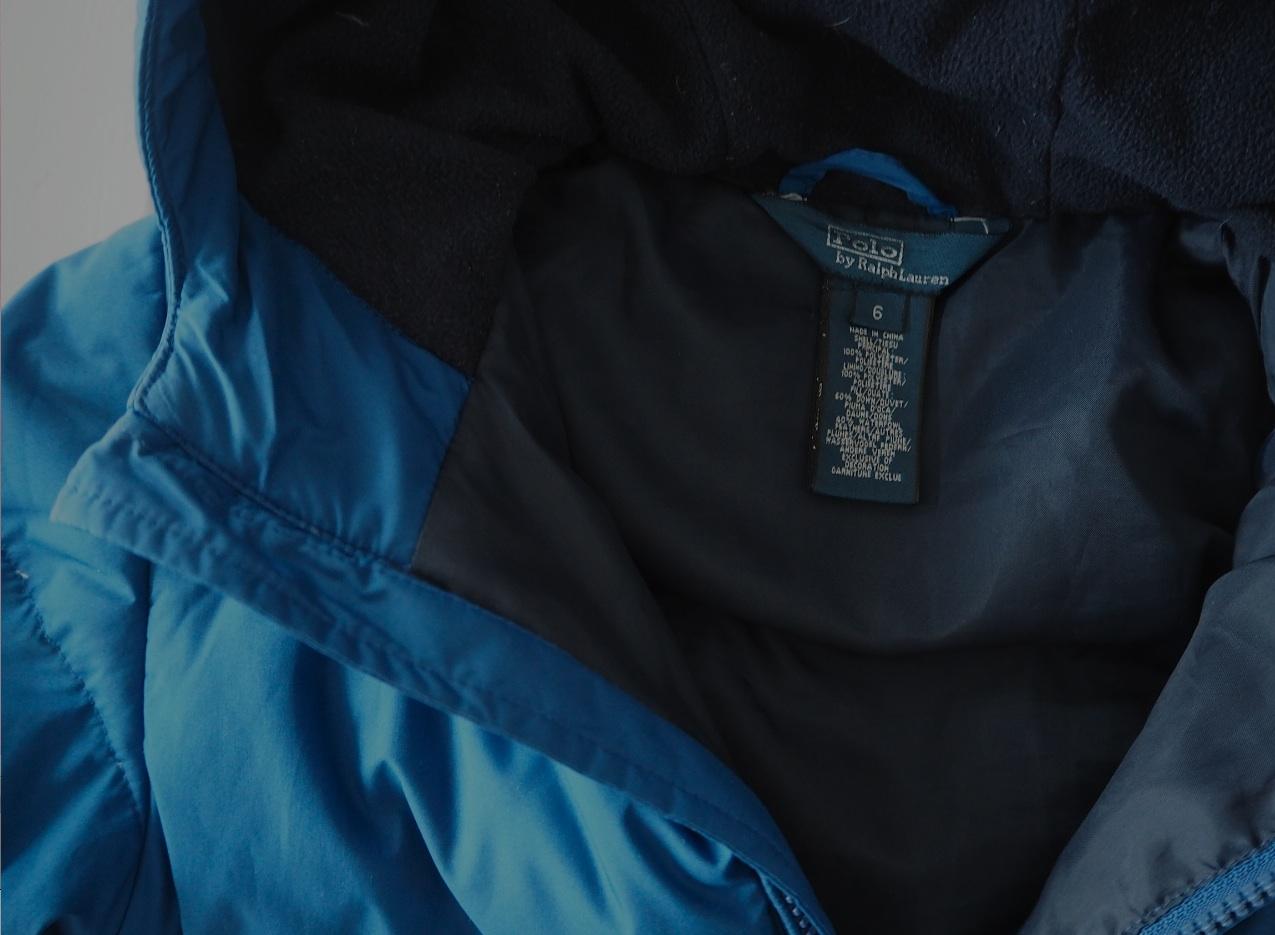 Ralph Lauren jacka blue 3