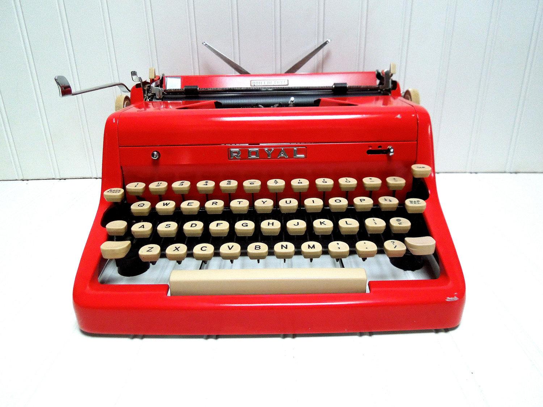 Skrivmaskin vintage