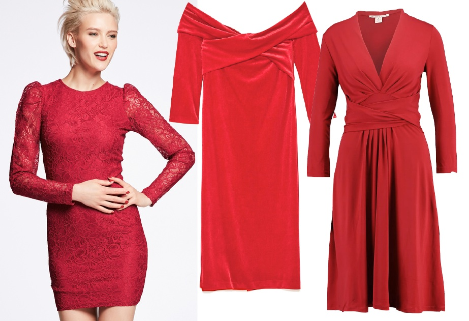 Red dress 5 plock